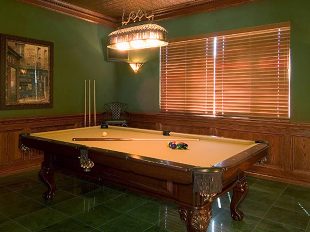 Fun Billard Room Home Remodeling Project