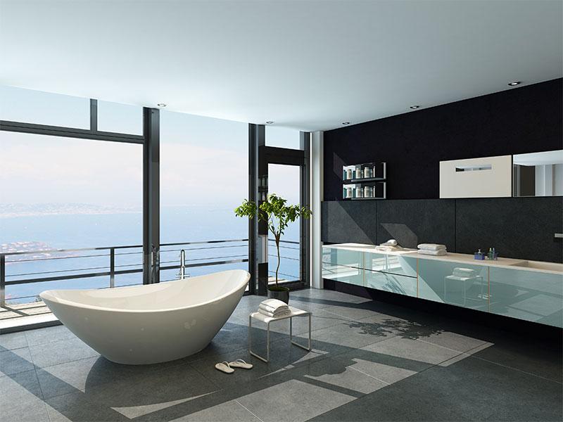 Custom Luxury Bathrooms - Hot Trends | Cayman Homes Construction