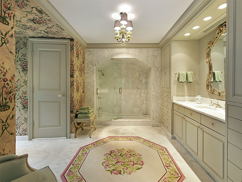 A Finished Luxury Bathroom Remodeling Project In Jacksonville, Florida