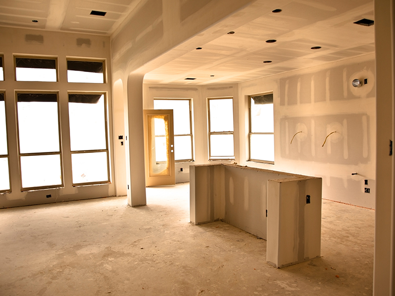 Construction process of Jacksonville kitchen remodeling project