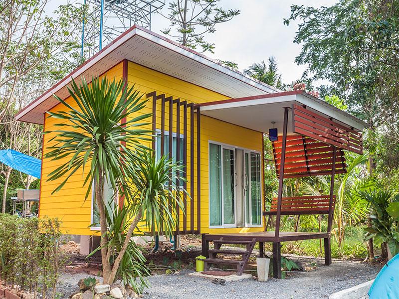 The granny pod cayman homes construction for Granny pod builders