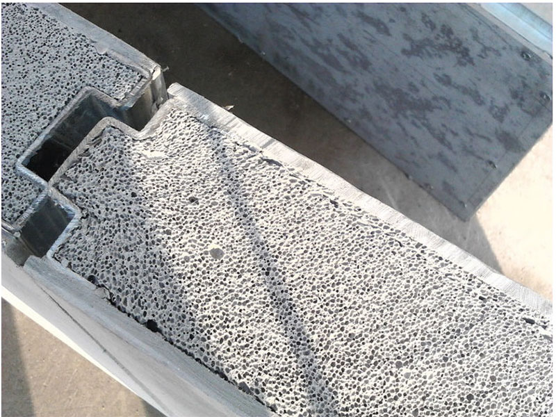 Cellular Cement block used in home construction Jacksonville FL